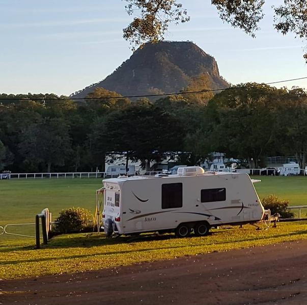 Pomona Caravan Park: Sooooo peaceful...