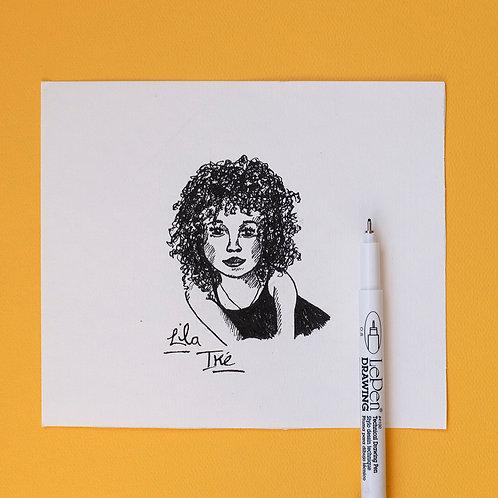 Custom Pen Drawing