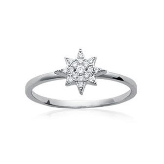 "BAGUE ""NORTH STAR"""