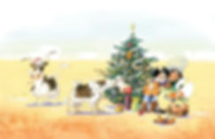 Cowboy Christmas by Rob Sanders illustrated by John Manders