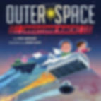 OUTER SPACE BEDTIME RACE by Rob Sanders, illustrated by Brian Won