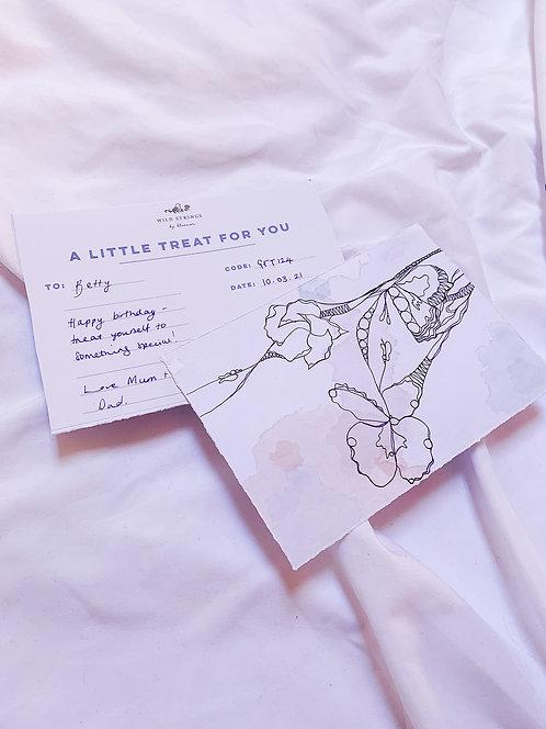 Gift card • £25- £100