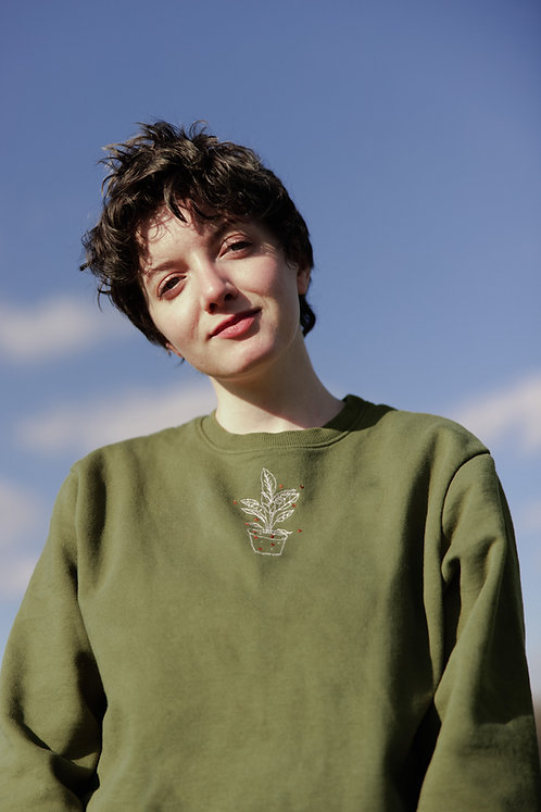 Grow Embroidered Jumper