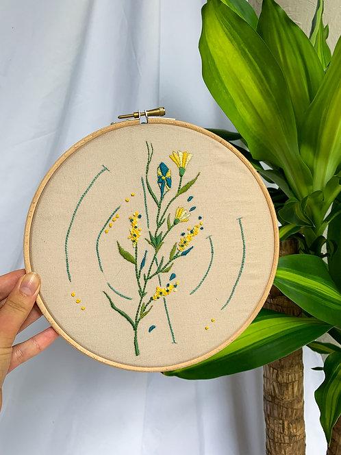 Meadow Embroidery Hoop