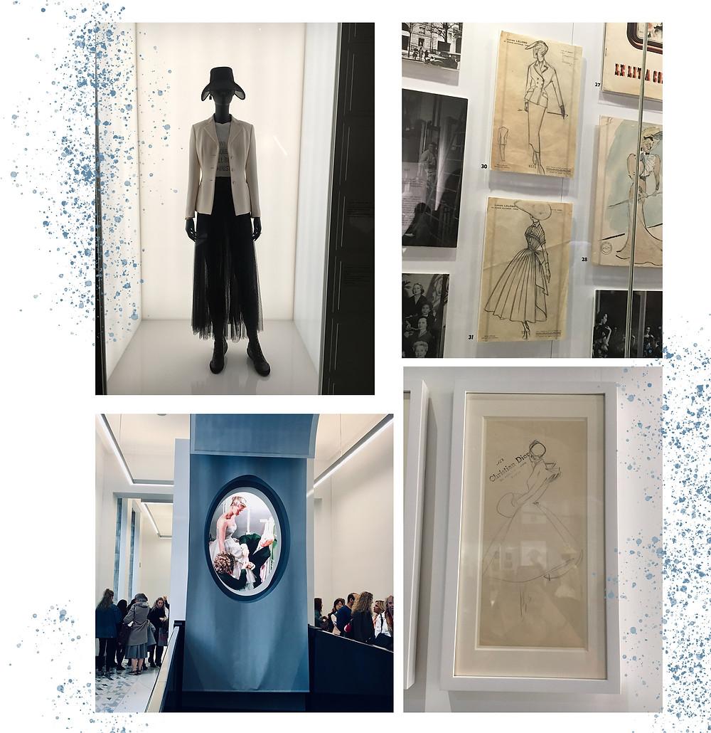 'Dior: Designer of Dreams' exhibition in the Victoria and Albert museum