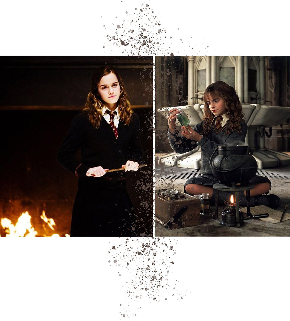 Hermione Granger, heroine, brainiac and all around wonder-girl