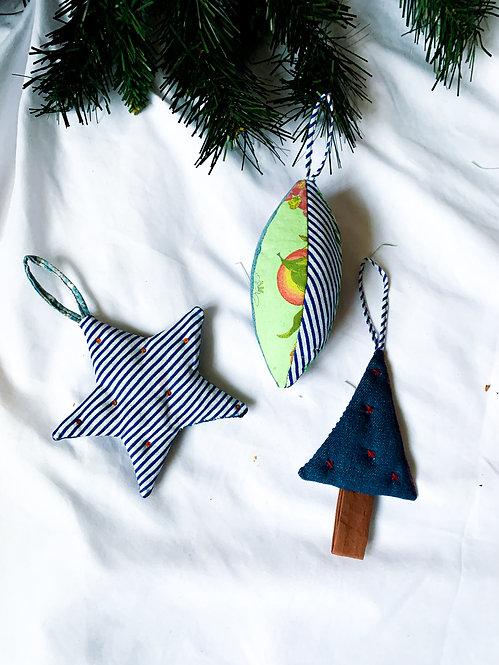 Christmas Decoration Trio