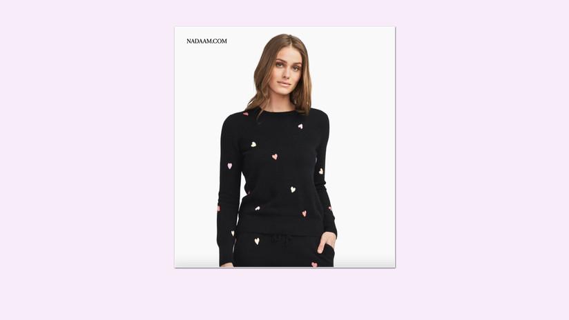 Naadam Heart Sweater