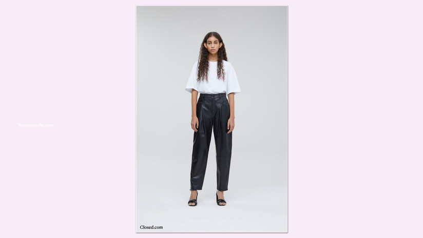 Closed Pearl Leather Pant
