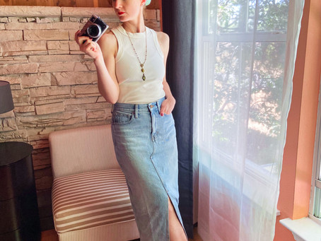Styling Guide: How To Style A Classic Denim Skirt