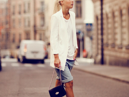 Add Spring To Your Step With This Season's Must-Have Item: White Blazer