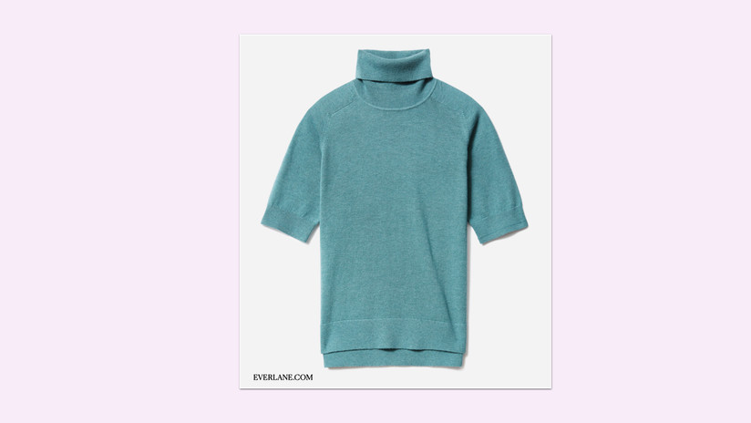 The Cotton–Merino Turtleneck Tee