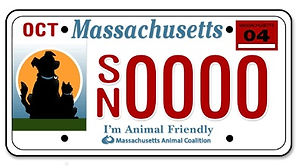 I'm Animal Friendly License Plate.jpg