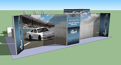 NASCAR Simulator, Mobile Marketing Tours, Tradeshow Displays, Booth Interaction, Lead Generation, Showcars, Brand Awareness,