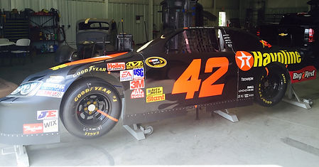 NASCAR pit stop simulator