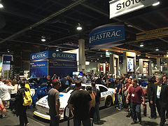 NASCAR Simulator, Lead Generation, Brand Awareness, Tradeshow