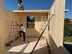 Brettsperrholz Wand