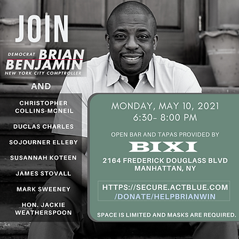 Brian Benjamin Fundraiser