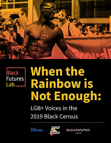 When the Rainbow is Not Enough: LBG+ Voices in the 2019 Black Census