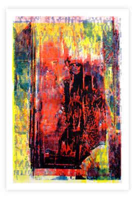 """Five color Paper Lithograph, 11"""" X 17"""", 2016"""