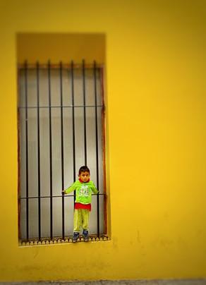 A young boy in Oaxaca Mexico