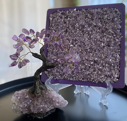 Lavender Charger Plate