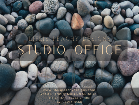 Lifeis Peachy Designs Studio Office is now open!!!