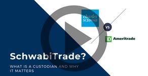 Charles Schwab meets TD Ameritrade - What is a custodian?