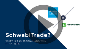 Charles Schwab meets TD Ameritrade - What is a custodian?