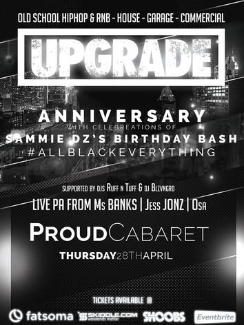 Upgrade Anniversary