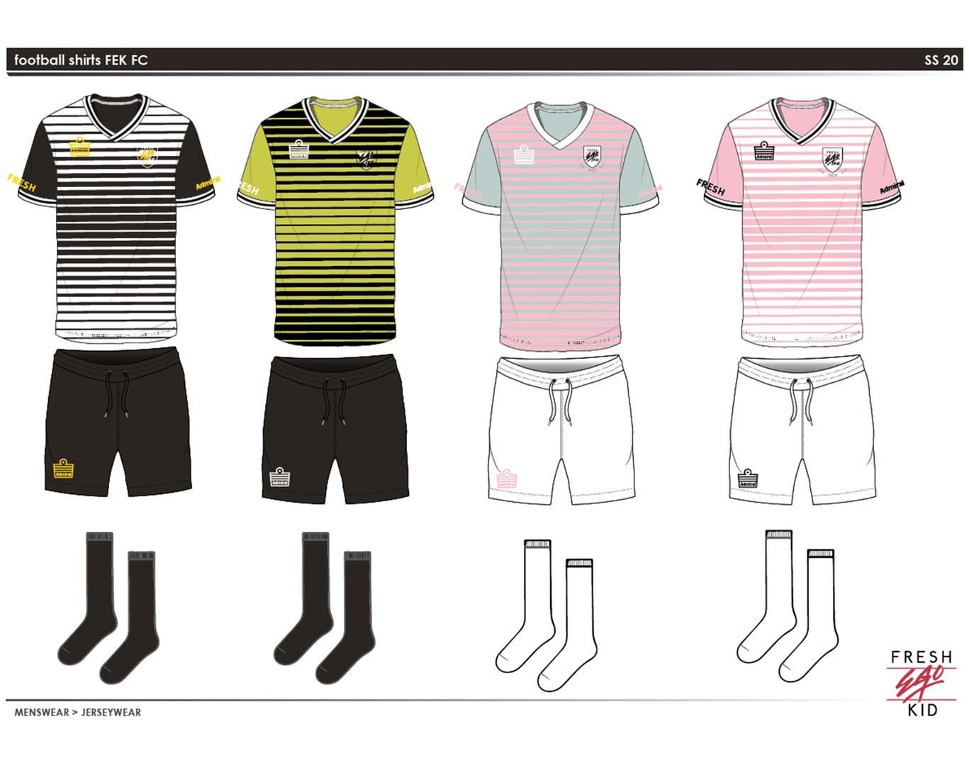 FEK - Football Kit final design