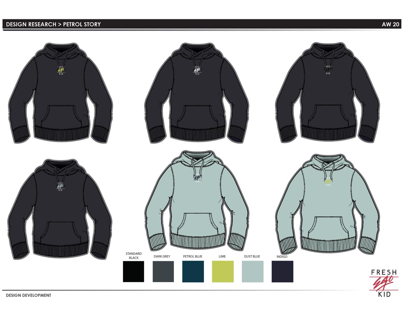 FEK - Hoodie design