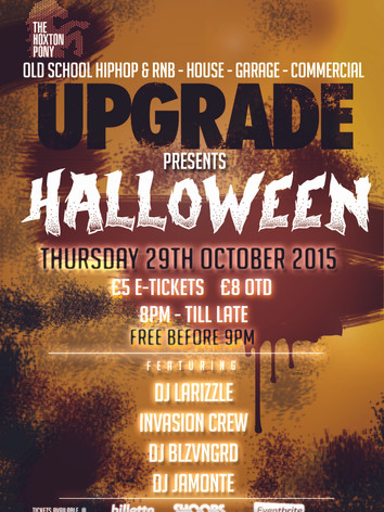 Upgrade Halloween