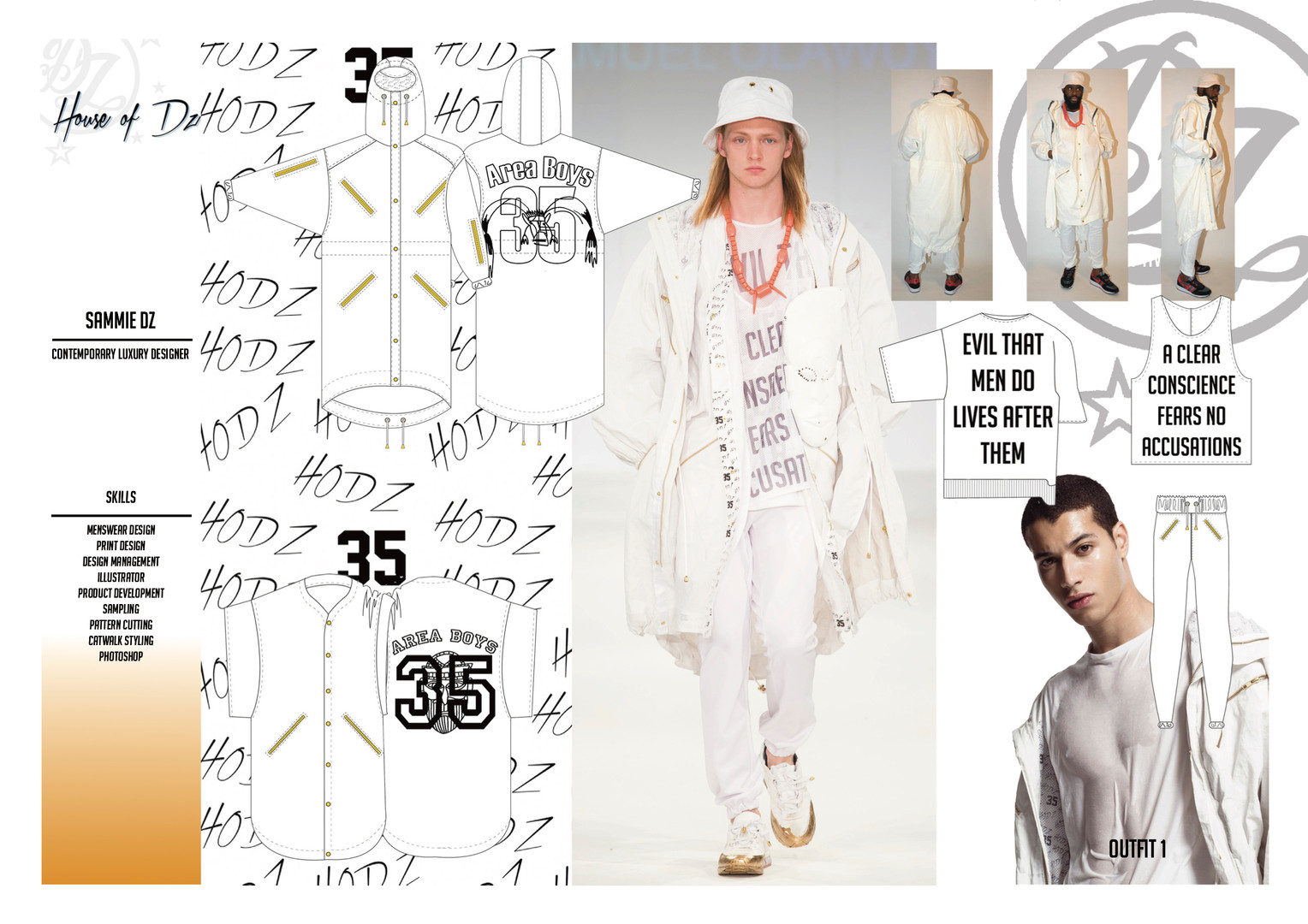 Graduate Collection - Outfit 1