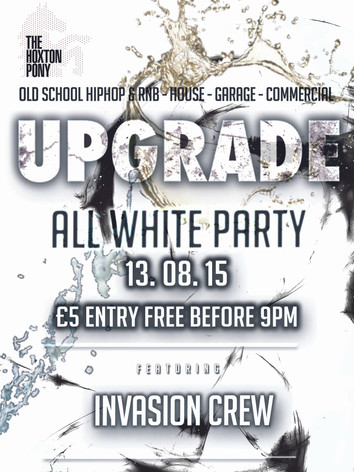 Upgrade White Party