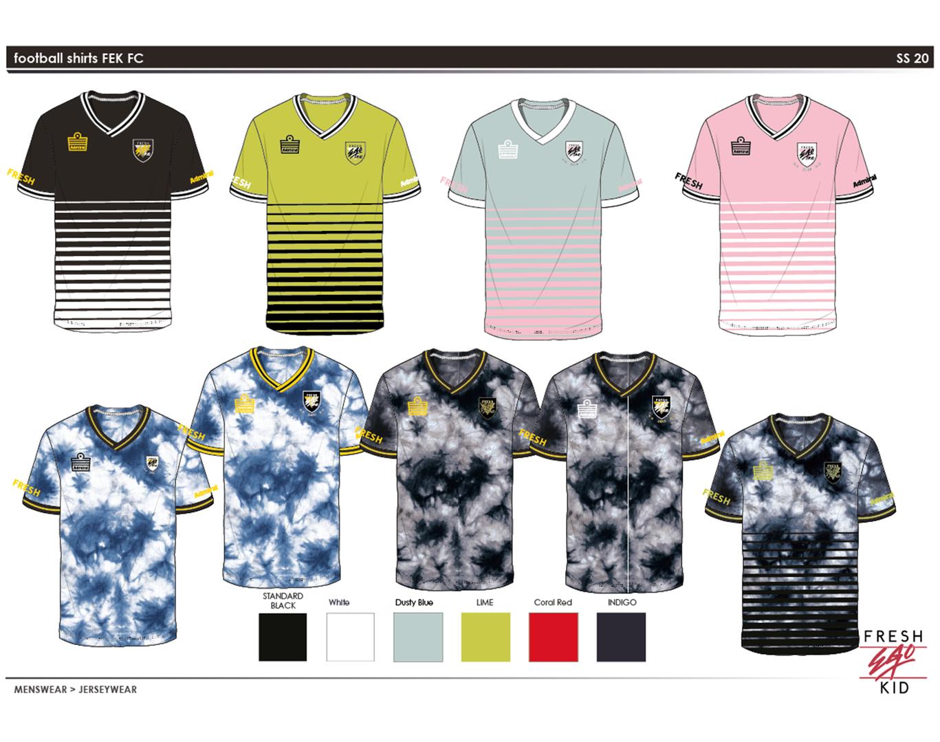 FEK - Football Kit design 3