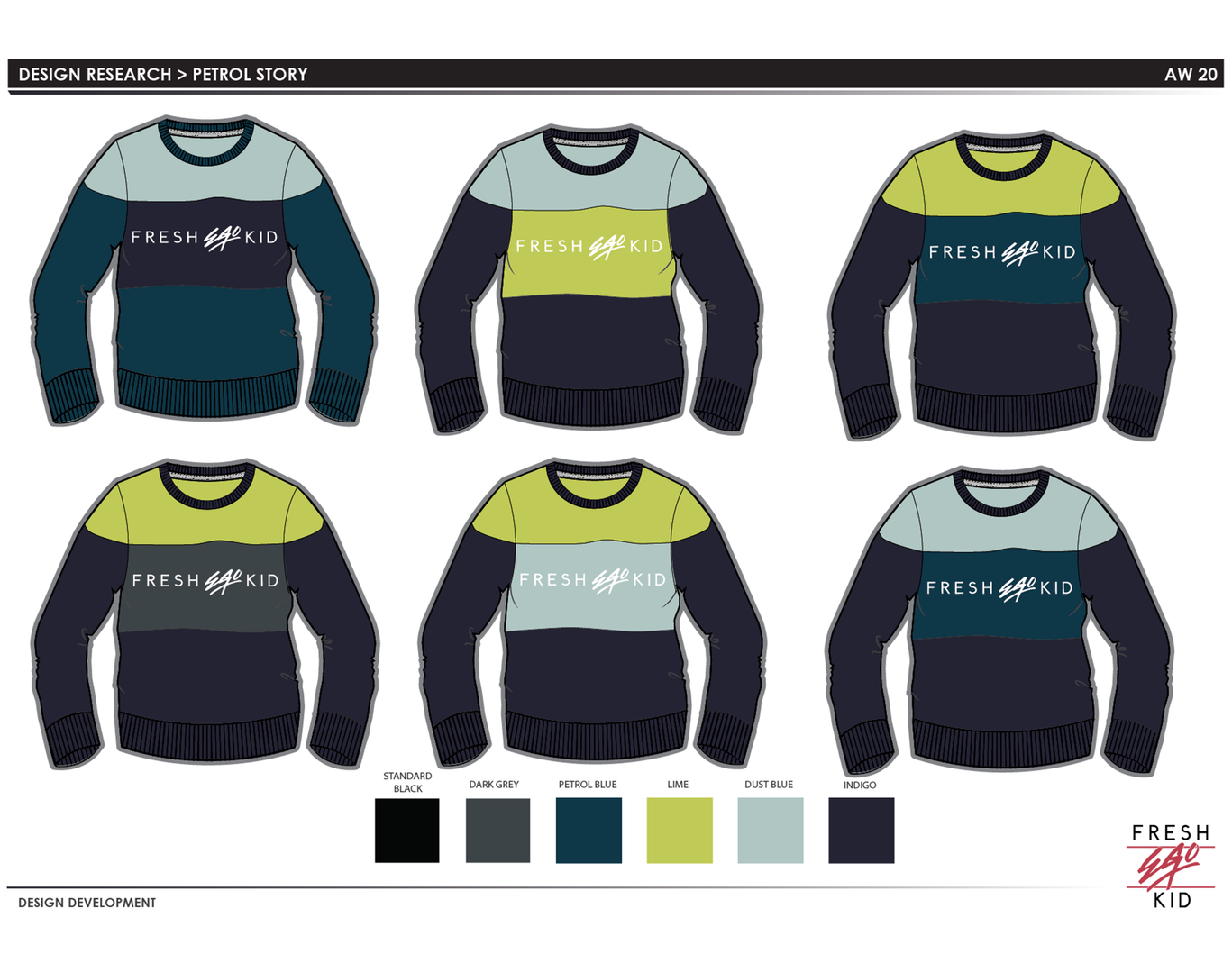 FEK - Crew sweater design 2