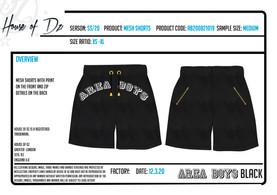 Mesh shorts Tech Pack
