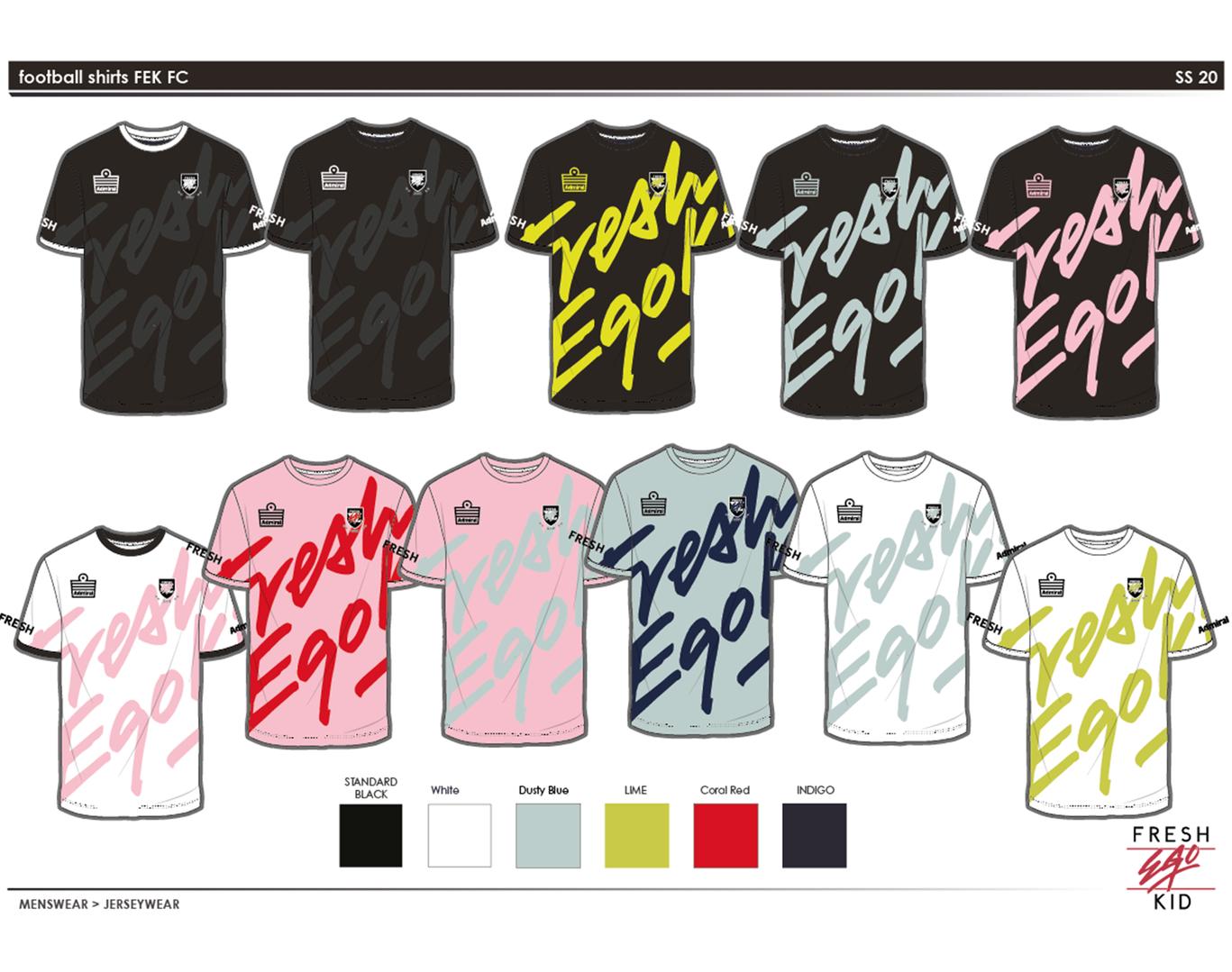FEK - Football Kit design 2