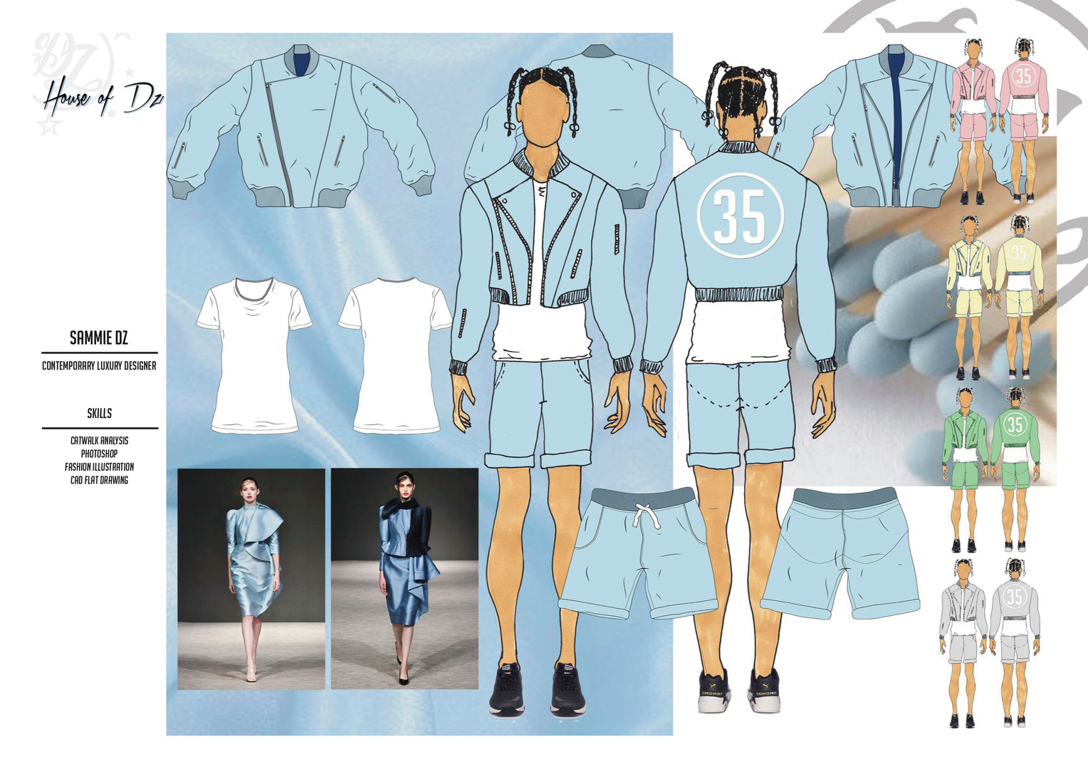 Homme Signature - baby blue