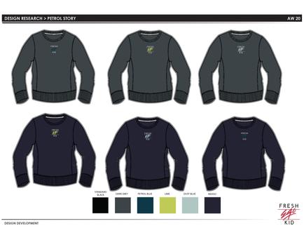 FEK - Crew sweater design 1