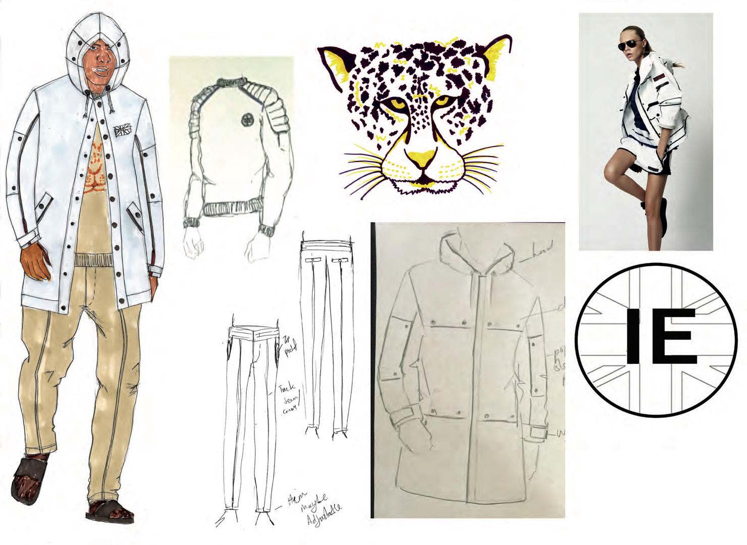 SD x IE - Outfit 2 design development