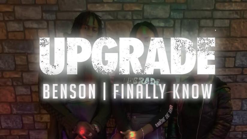 Benson - Finally Know