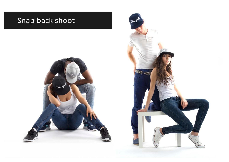 Snapback ecommerce shoot
