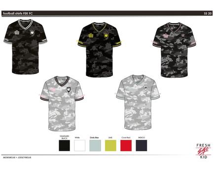 FEK - Football Kit design 1