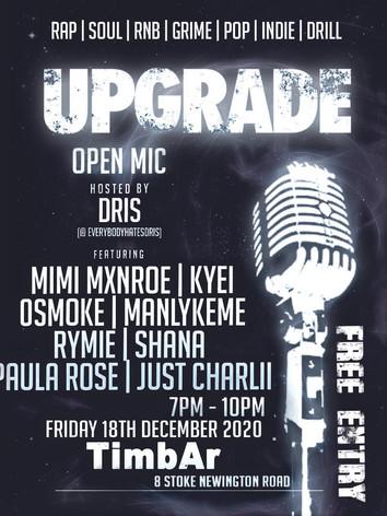 Upgrade open mic
