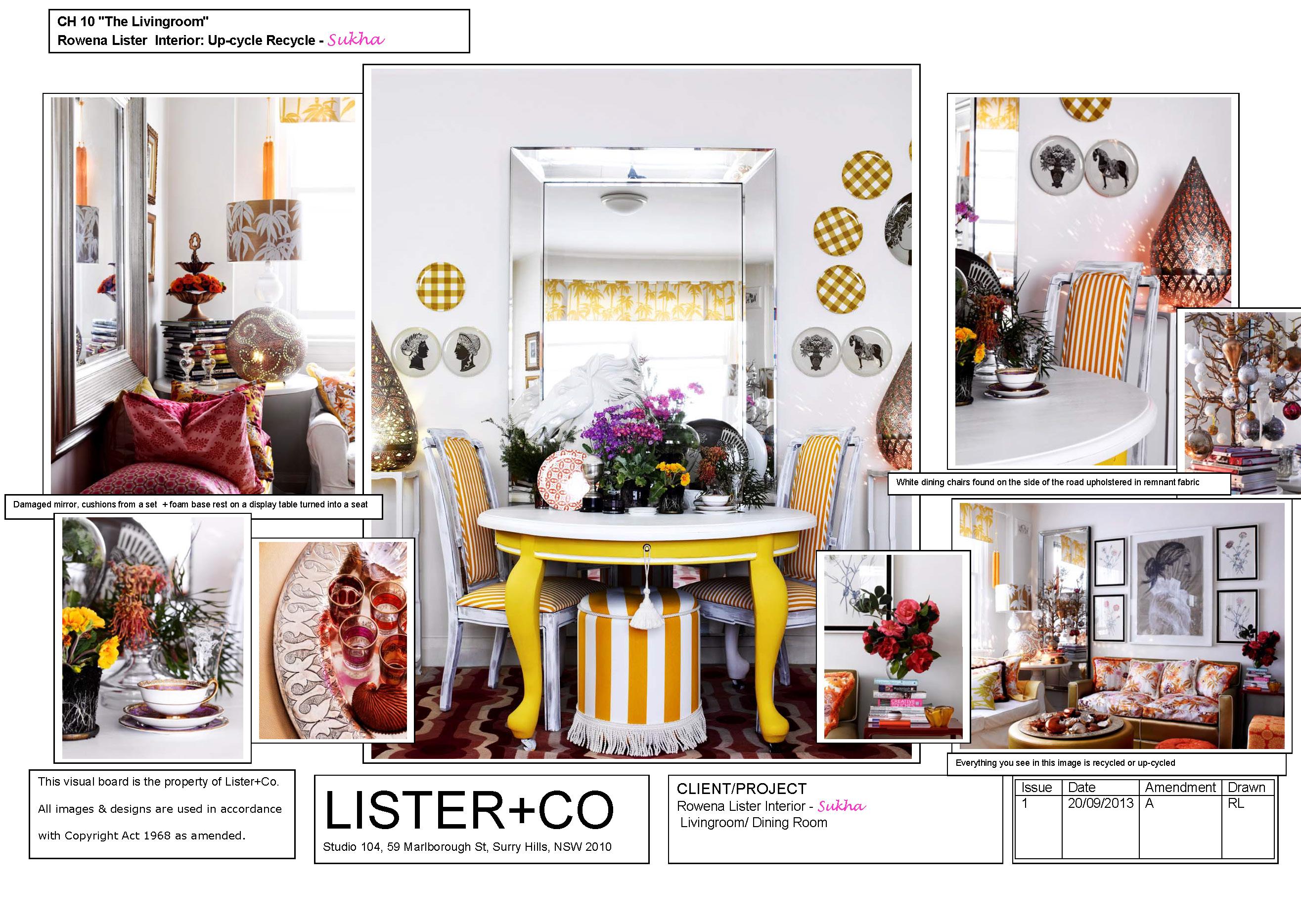 The Livingroom Dining Room