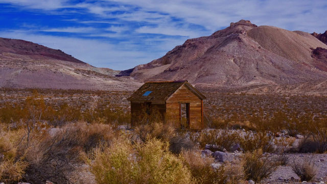 A Town Taken Back By The Desert- Rhyolite Nevada