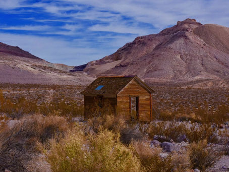 A Town Taken Back By The Desert- Rhyolite Nevada