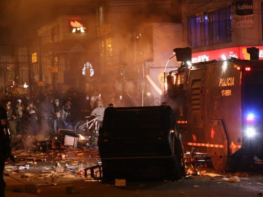 Al menos 7 muertos en los violentos disturbios en Bogotá tras un caso de brutalidad policial